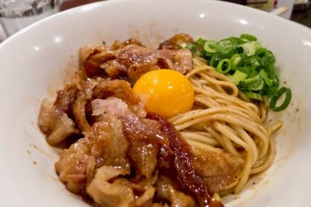 豚玉和え麺